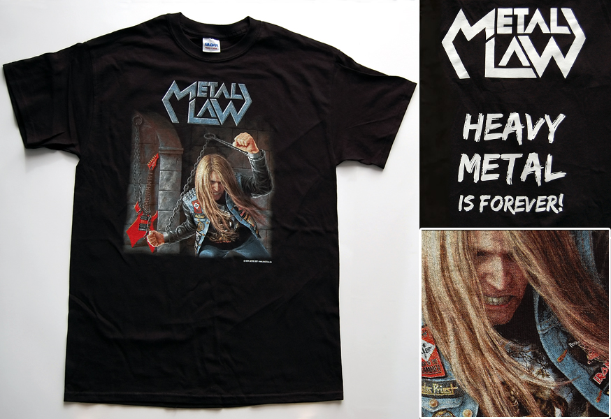 Metal Law T-shirt for Facebook